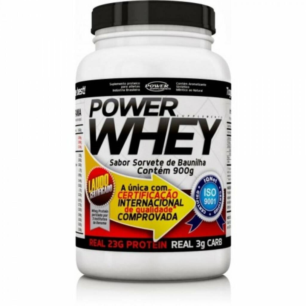 Power Whey - Suplementos Alimentares para Ganhar Massa Rapidamente