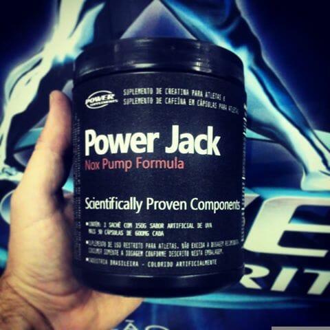 Power Jack Nox Pump é um bom pre treino