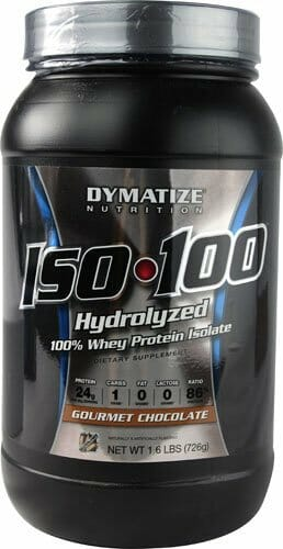 Iso 100 Whey protein da Dymatize