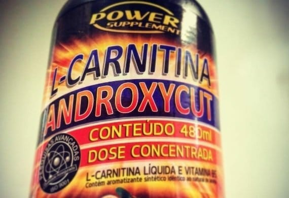 L-Carnitina Androxycut é boa, funciona, como tomar, ajuda a queimar gordura, preço e onde comprar