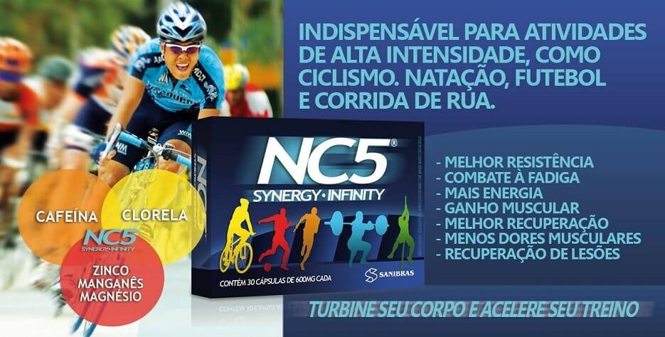 NC5 Synergy Infinity da Sanibras - Efeitos e Benefícios desse Suplemento para quem treina pesado