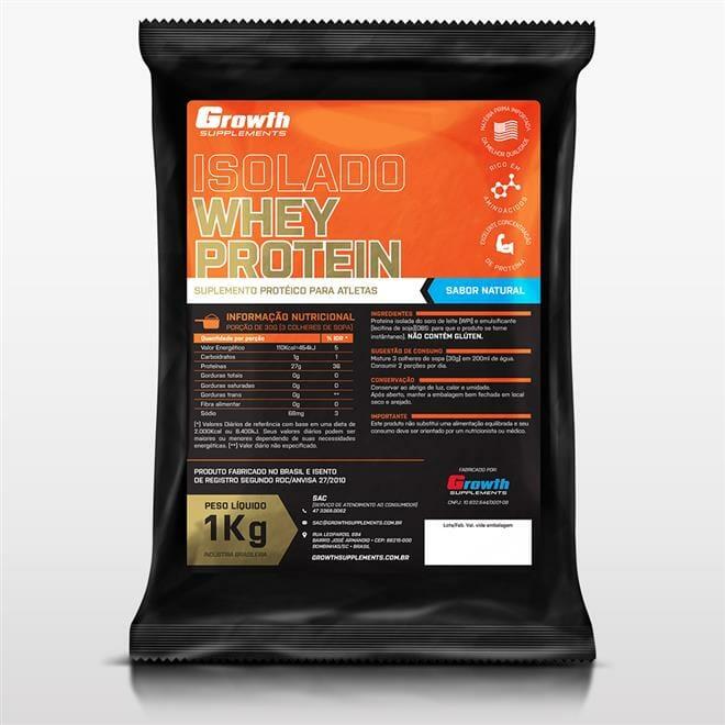Melhor Whey Protein para comprar em 2017 - Whey Protein Isolada Growth Supplements