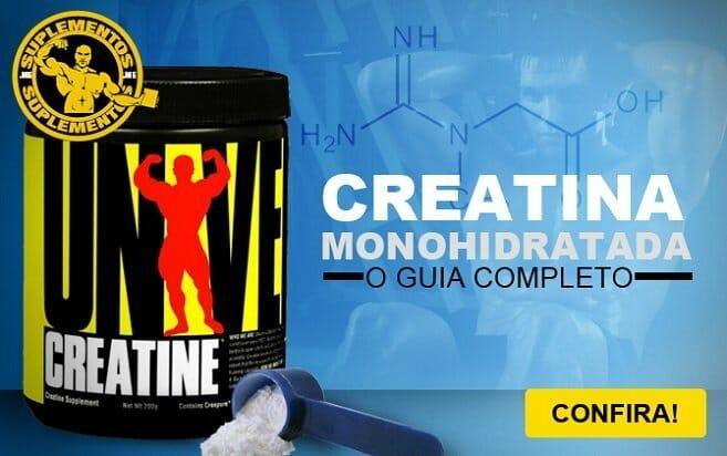 Creatina Monohidratada é bom