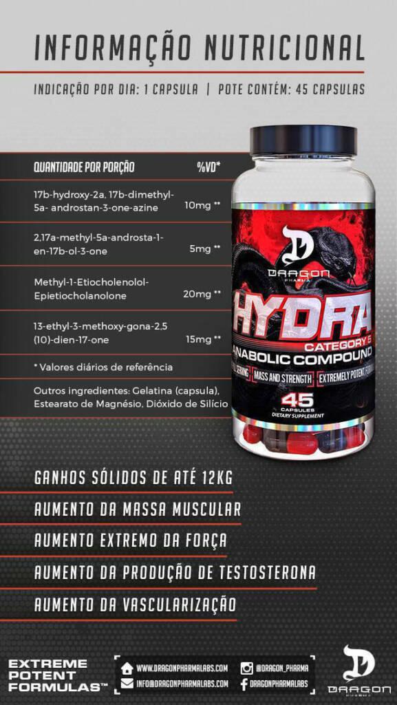 Hydra Dragon Pharma funciona mesmo
