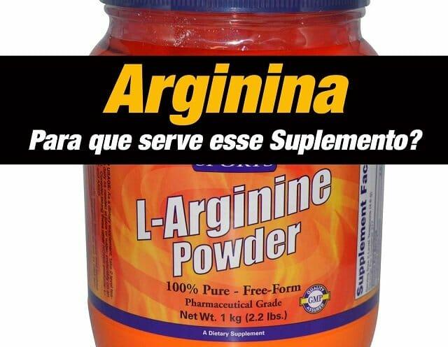 Arginina aumenta disposição