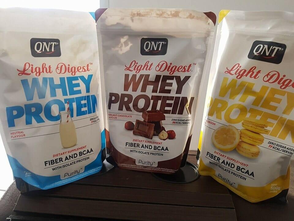 Whey Protein Light Digest QNT funciona muito bem