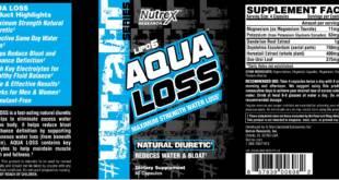 Lipo 6 Aqua - informação nutricional