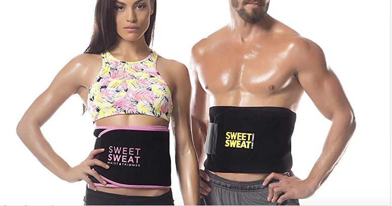 Sweet Sweat cinta termogênica