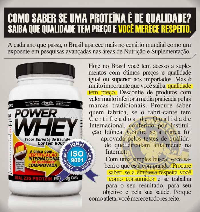 Power Whey Protein - Power Supplements