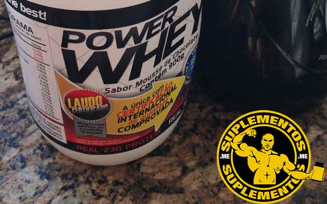 Power Whey Protein - Whey Protein da Power Supplements