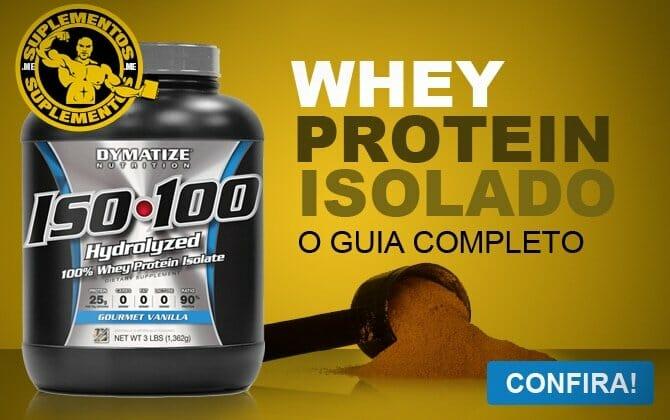 1095ec9bf Whey Protein Isolado - O que é