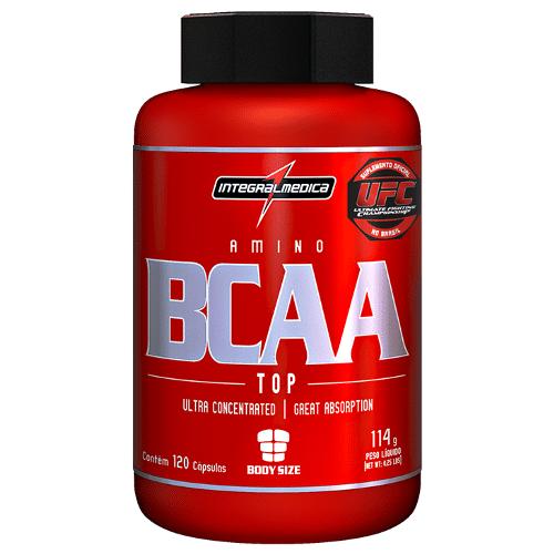 BCAA Integralmedica para a recuperação e ganho de massa muscular