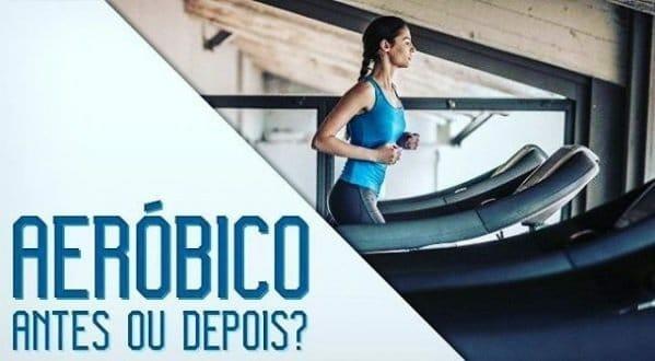 Treino aeróbico antes ou depois do treino?