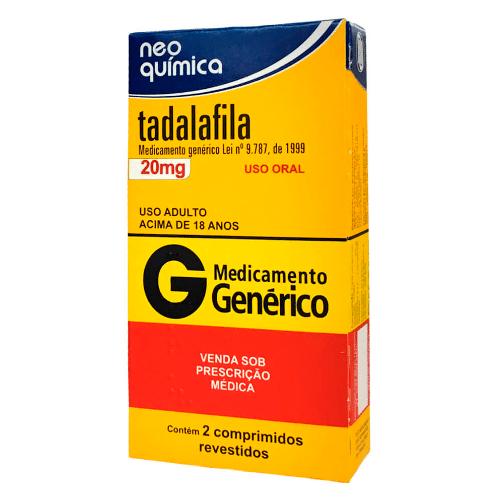 Tadalafila 20mg
