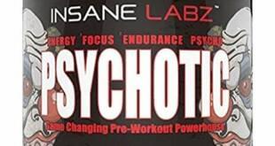 Psychotic, Insane Labz é um dos melhores pre treinos de 2020