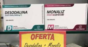 Emagrecedores Desodalina e Monaliz
